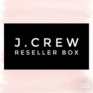 J.Crew Reseller Box - 10 Items